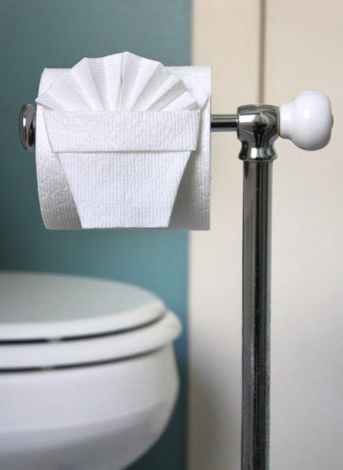 Toilet Paper Origami  #
