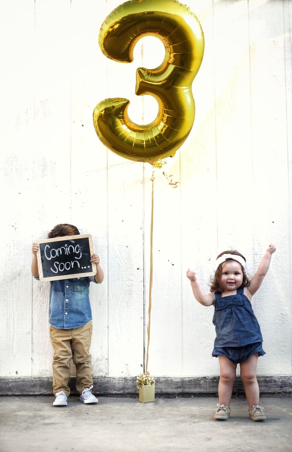 Watch This Sweet Pregnancy Reveal for Baby 3 Is a Family Affair video