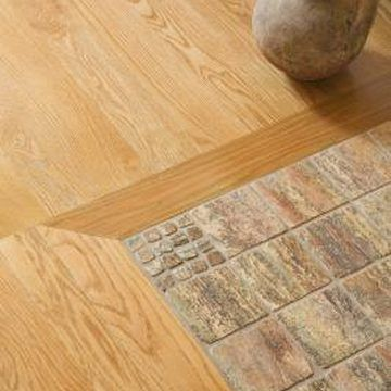 How to mix hardwood and ceramic tile flooring in different Different tiles in different rooms