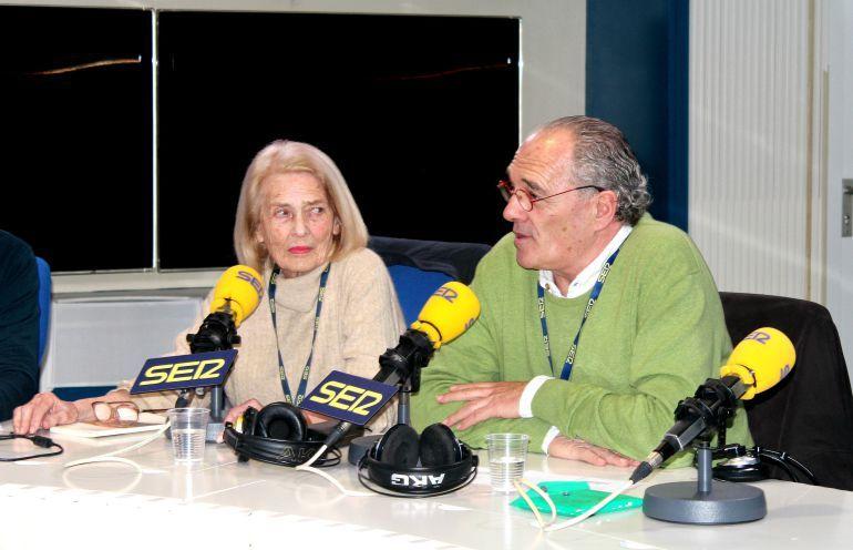 Carlos Olalla y Cristina Maristany, en el estudio de 'La Ventana'