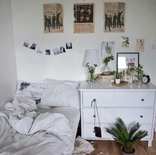 Simple Bedroom Ideas Pinterest: // Pinterest Naomiokayyy Home, House, Goals, Decor