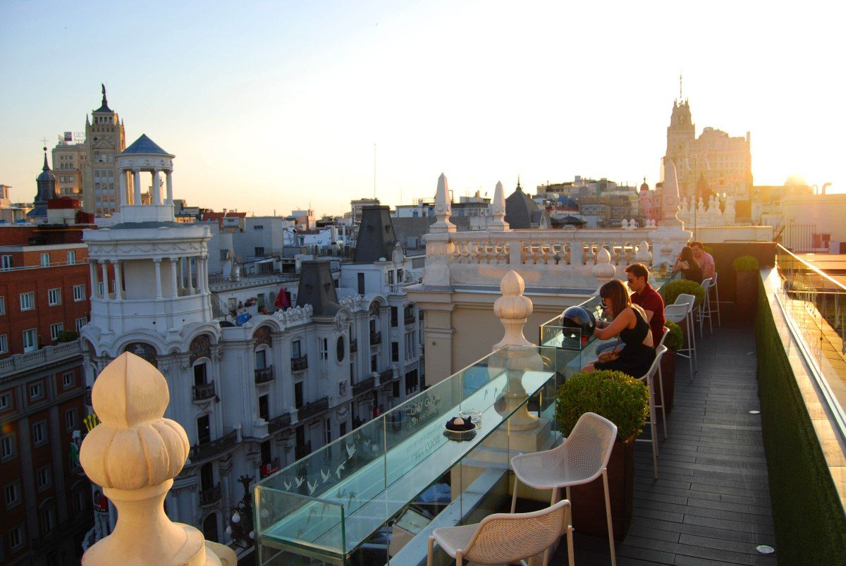 Top 11 Rooftops Of Madrid Rooftop Madrid Places To Go