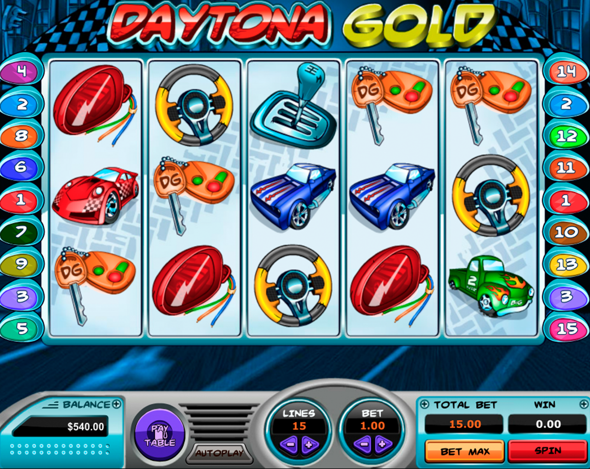 Daytona Gold for free online with no download!