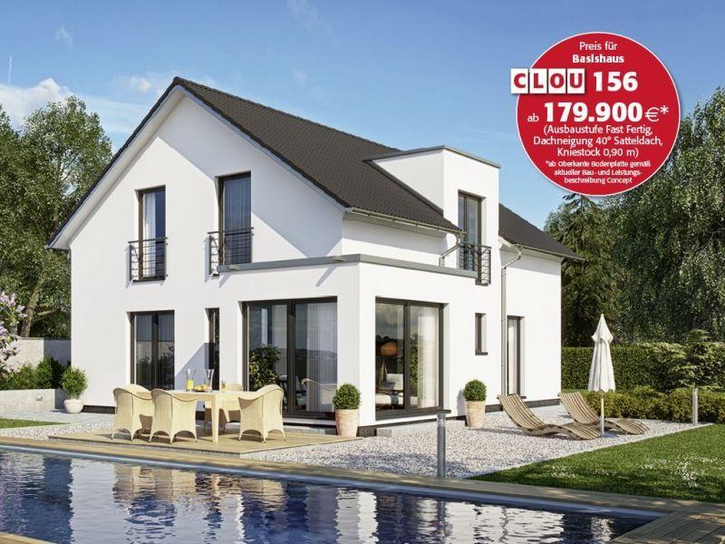 rensch haus clou 156 haus pinterest gaube preiswert. Black Bedroom Furniture Sets. Home Design Ideas