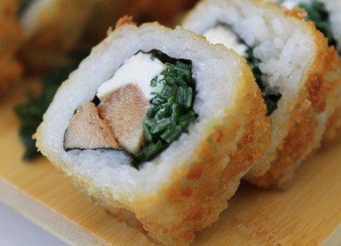Sushi De Pollo Y Queso Sushi De Pollo