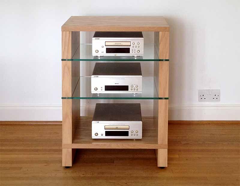 Hifi Stand Audinni WoodMan Cabinet AV Audio Four Five Six Shelf