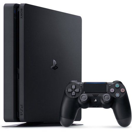 Sony Playstation 4 Slim 1tb Gaming Console Black Cuh 2115b Walmart Com In 2020 Playstation 4 Console Playstation Consoles Ps4 Game Console