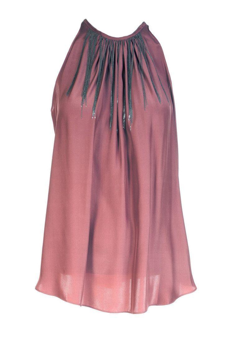 Henna 100% Silk Blouse Adorn w/Chains - designer blouse, womens gold blouse, red blouse womens *sponsored https://www.pinterest.com/blouses_blouse/ https://www.pinterest.com/explore/blouse/ https://www.pinterest.com/blouses_blouse/saree-blouse/ http://www.calvinklein.us/shop/en/ck/search/womens-blouses-shirts