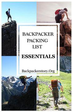Backpacker Packing List  #travel #travelling #destinations #travelblogger #travelstories #travelinspiration #besttravel #tourism #travelwriter #travelblog #traveldeeper #traveltheworld #Traveltips #Packinglist   http://adventuresoflilnicki.com/