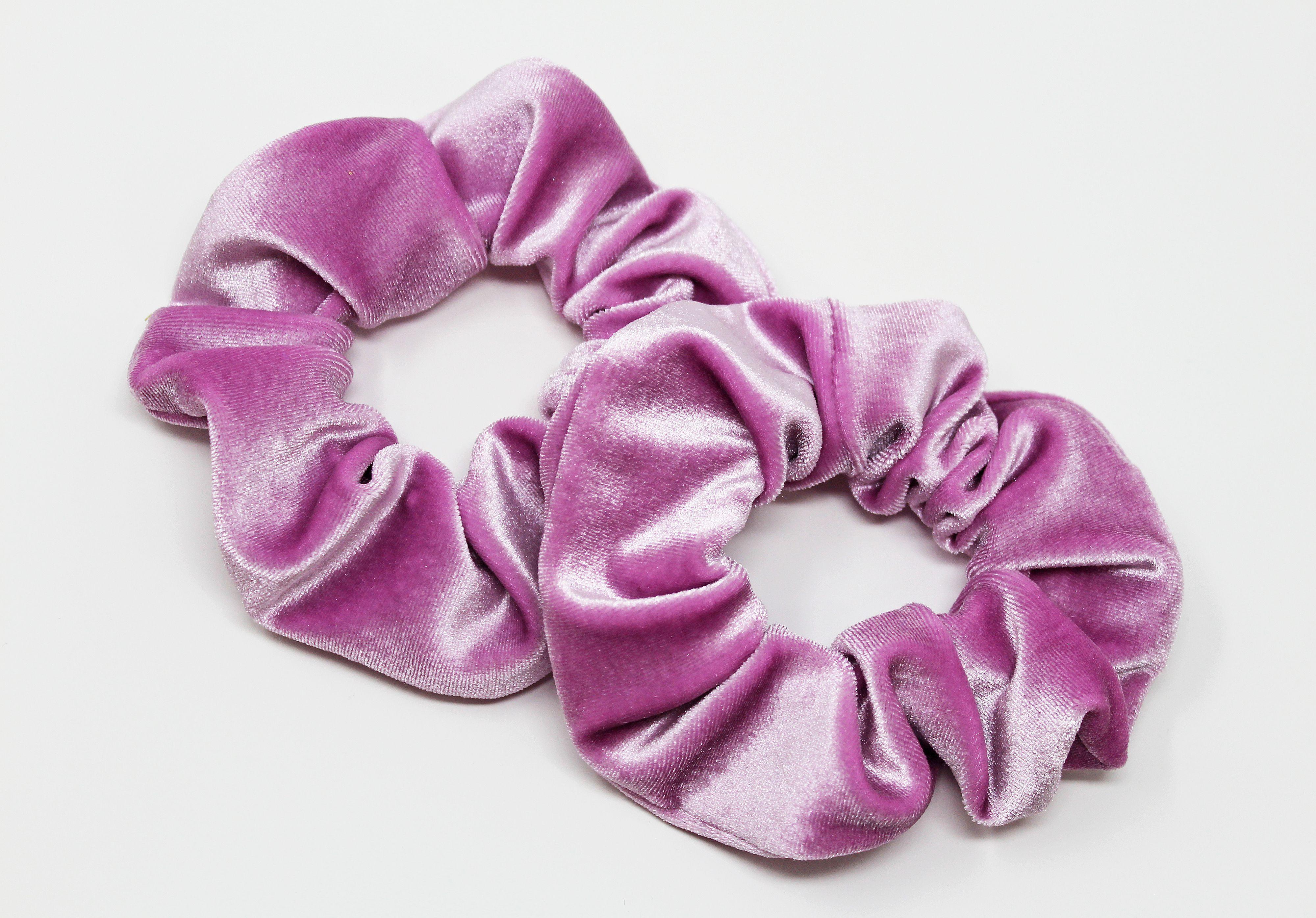 Lavender Velvet Hair Scrunchie  014c0b97214