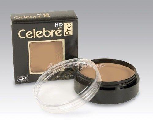 Mehron Celebre HD Pro Quality Stage Theater Film Foundation Cream Makeup