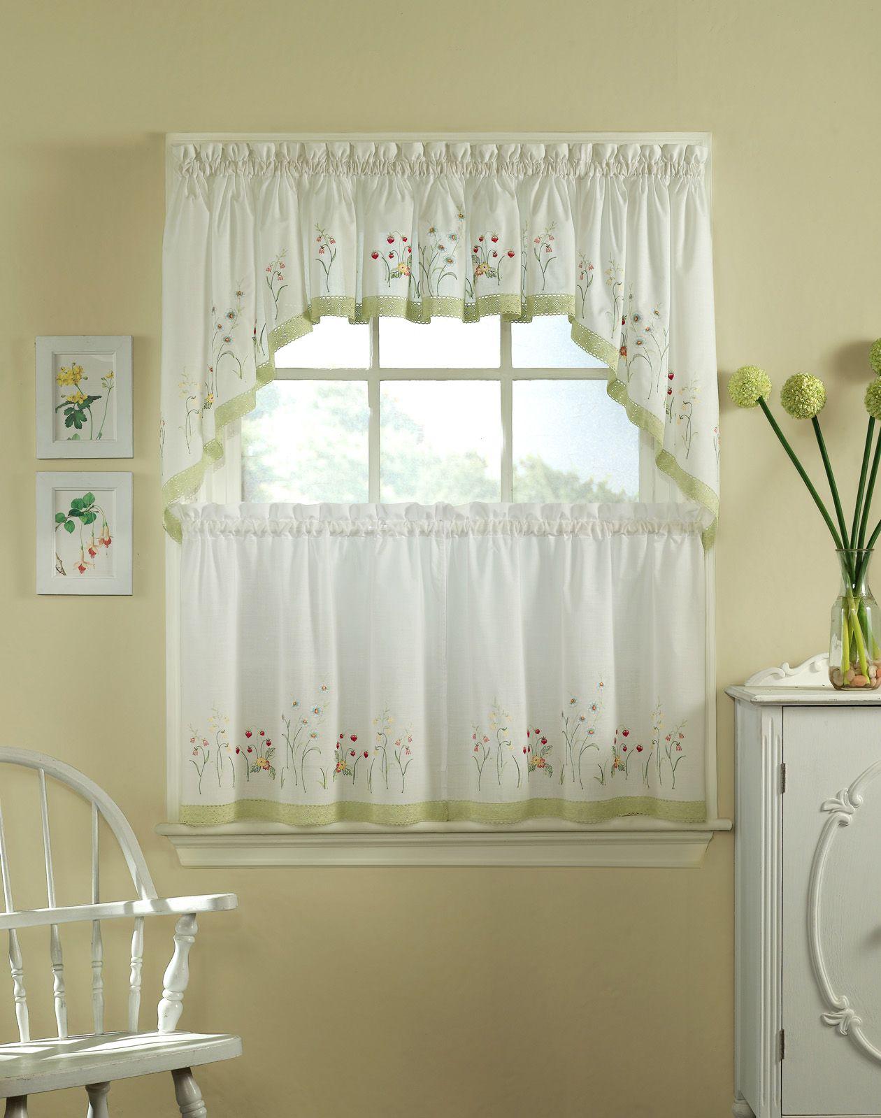 Half Window Curtains Ideas | Pinterest | Half window curtains ...