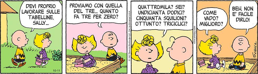 Peanuts ottobre il post pinterest