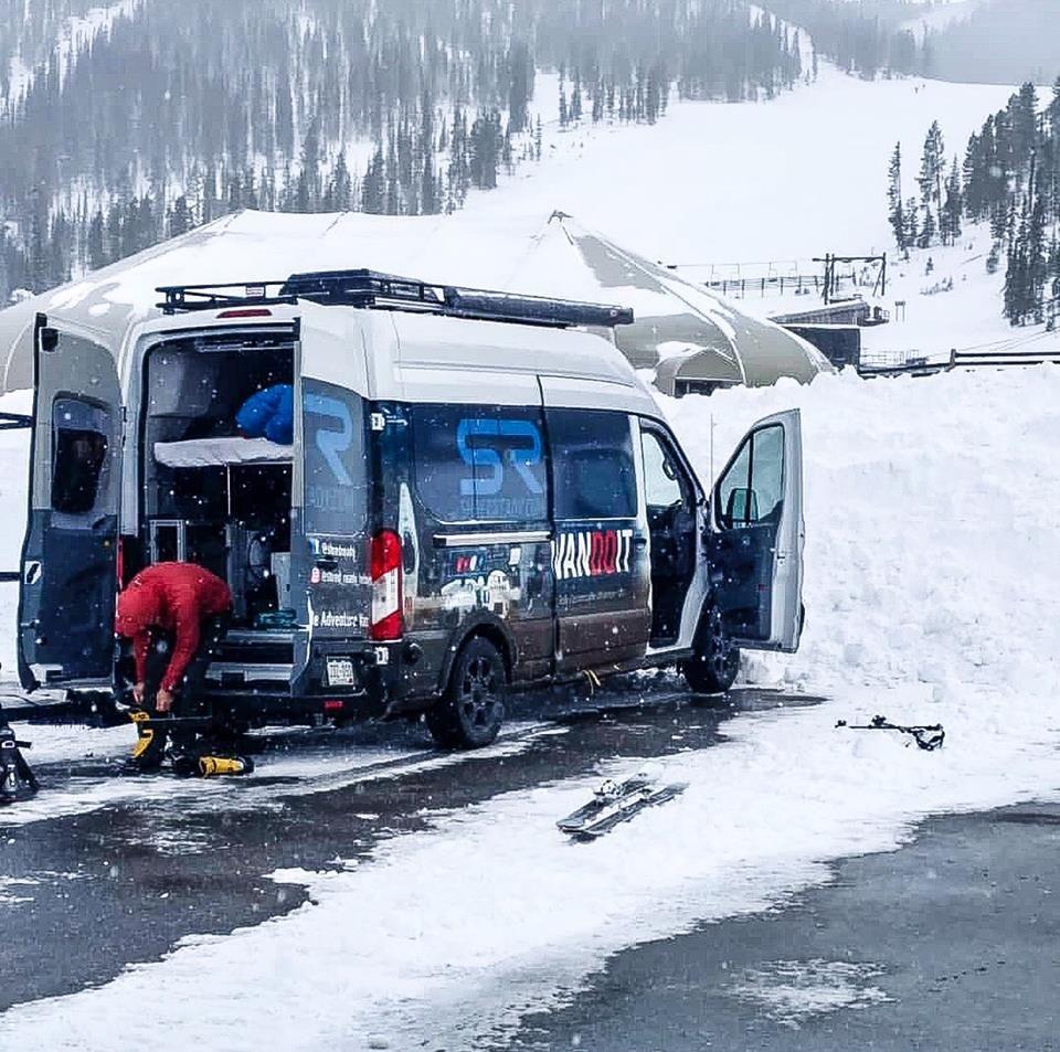 Van Skit It Vandoit Adventurevan Skiing Breckenridge