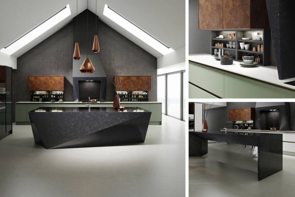 Image result for copper and grey kitchen   Kitchen ideas   Pinterest