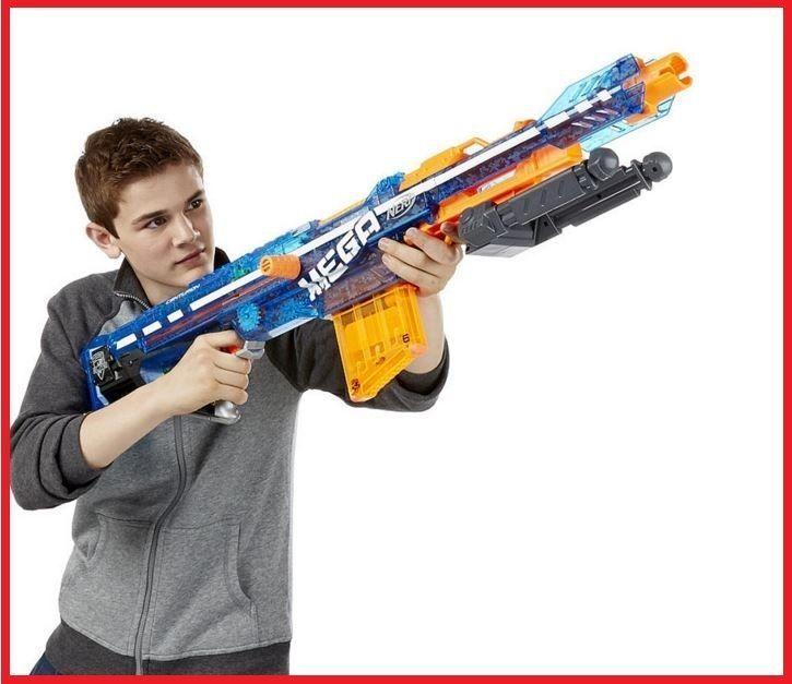 Nerf #Gun #N-Strike #Sonic #Ice #Blaster #Elite #Mega #Centurion
