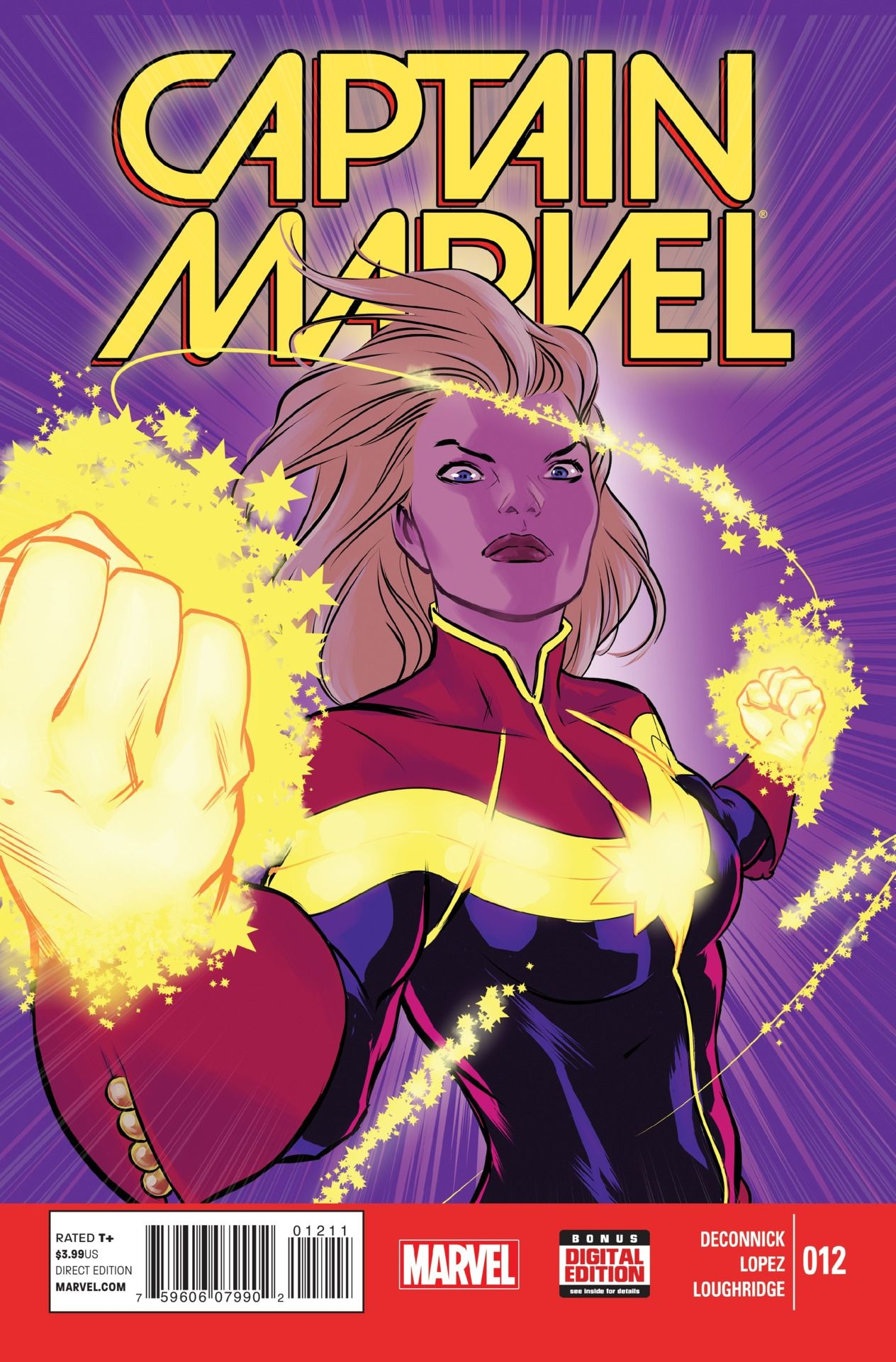 preview: captain marvel #12 - comic vine | nerdy goodness