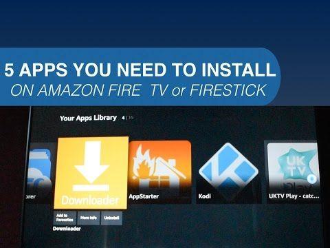 download amazon prime app on firestick