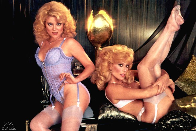 Judy and Audrey Landers PLAYBOY | Audrey Landers with her sister Judy -  1980s. The... | Fantasy Females .