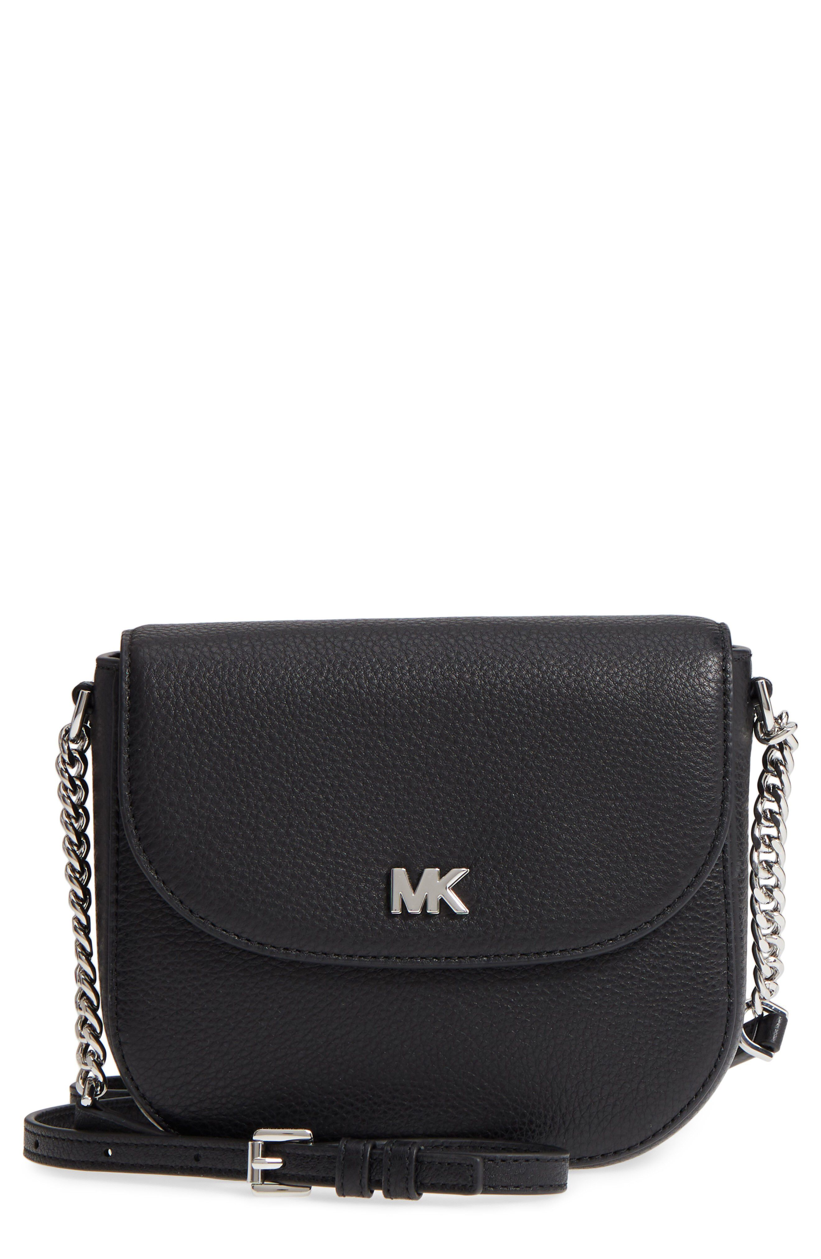 1898a8dd7605 Michael Kors MICHAEL Michael Kors Mott Leather Crossbody Bag available at  #Nordstrom