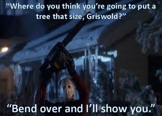 I Wasn T Talking To You National Lampoons Christmas Vacation