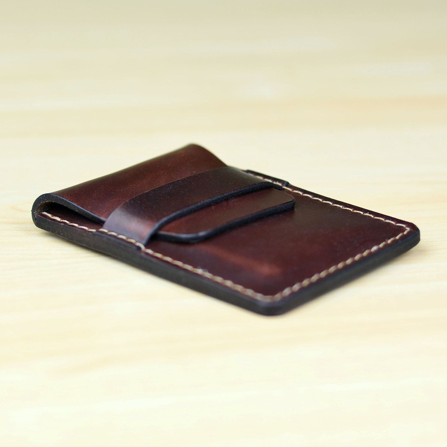 Leather business card holder personalized leather business card leather business card holder personalized leather business card case leather card case leather card wallet horween brown chromexcel colourmoves