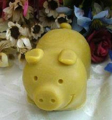 Pig 3D Flexible Silicone Mold Silicone Mould Candy Mold Chocolate Mold Soap Mold…