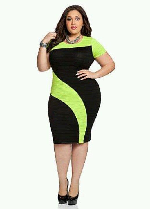 Curvy style   omg love this dress!!