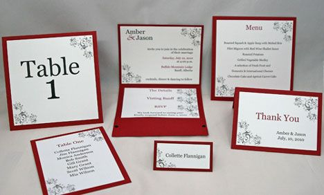 Complete Diy Wedding Stationary Kit With Your Own Touch