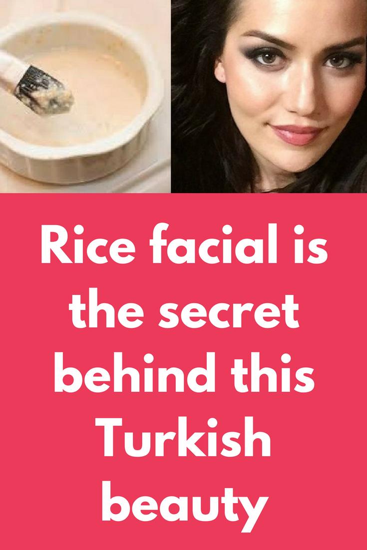 DIY Rice Flour Facial Mask Facial masks, Rice flour