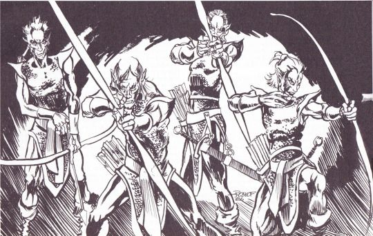 Drow by Jim Roslof, AD&D Dungeoneer's Survival Guide, 1986 TSR
