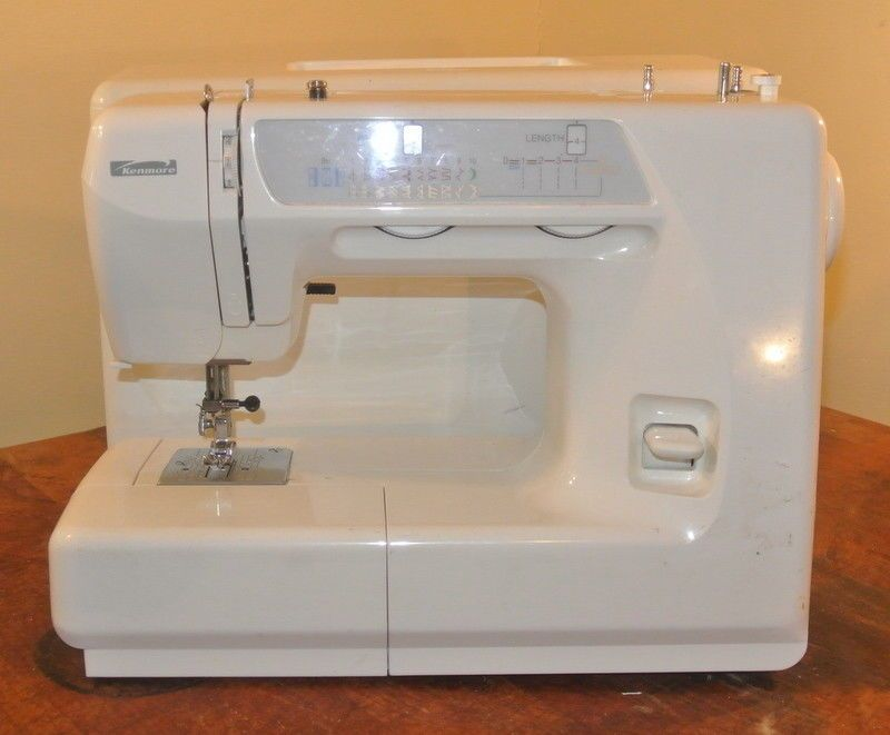 Sears Kenmore 40 40 Sewing Machine No Control Pedal or Cord Enchanting Kenmore Sewing Machine 385
