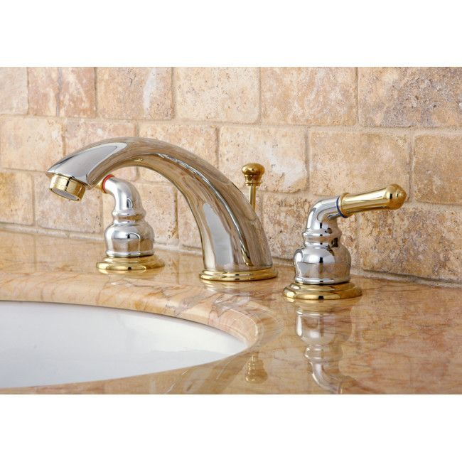 Magellan Widespread Bathroom Faucet With Abs Pop Up Drain