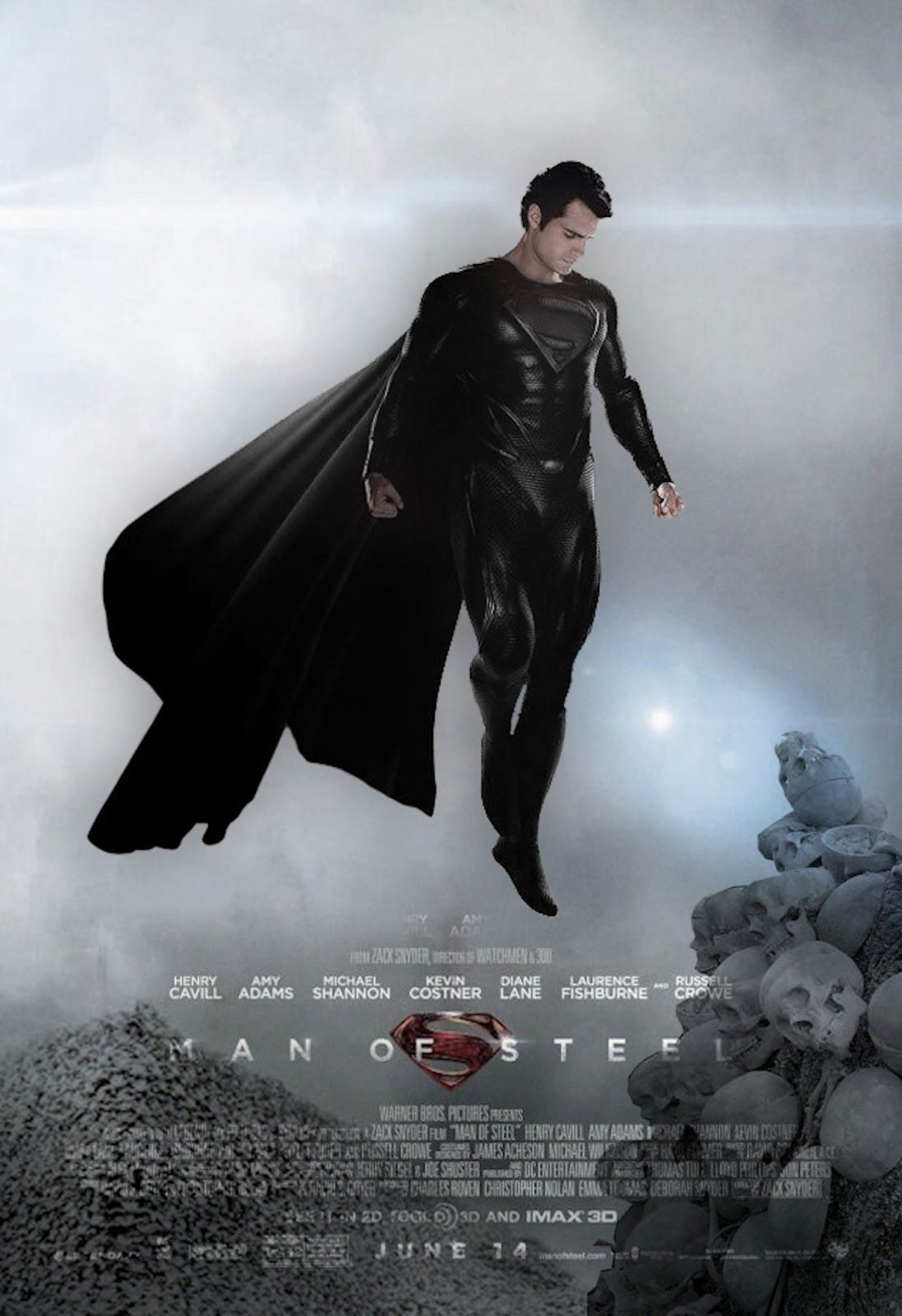 Superman Man Of Steel Flying Image 4133 At Movie Wallpapers