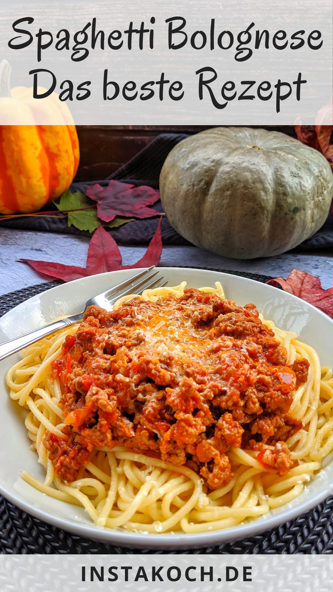 Spaghetti Bolognese – total einfach und lecker Zuhause kochen #gulaschrezept