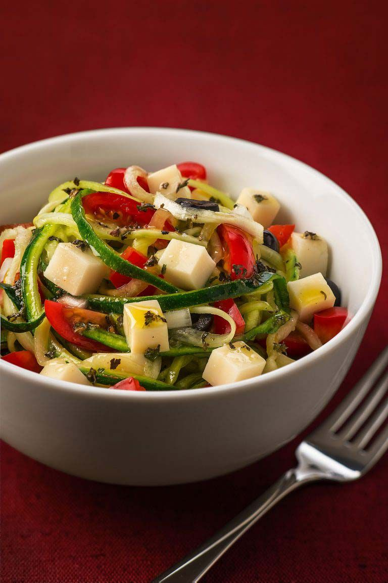 "Zoodle ""Pasta"" Salad | Galbani Cheese | Authentic Italian ..."