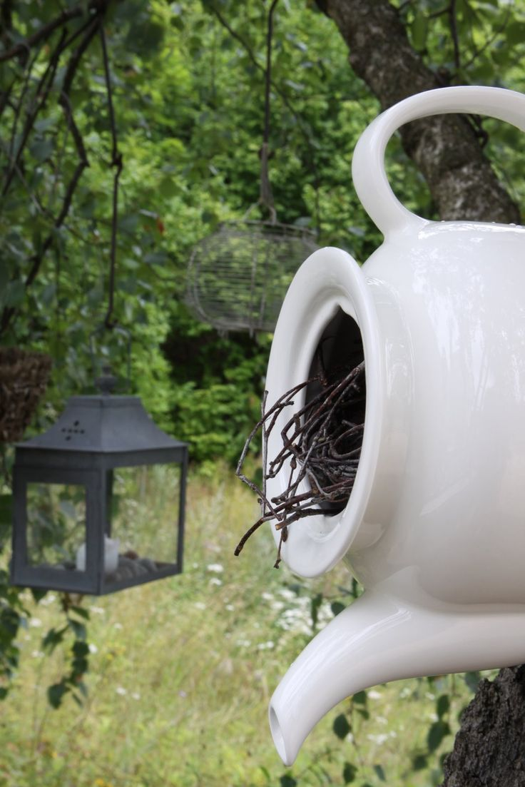 Teacup Bird Houses | visit pinpopulars us mn