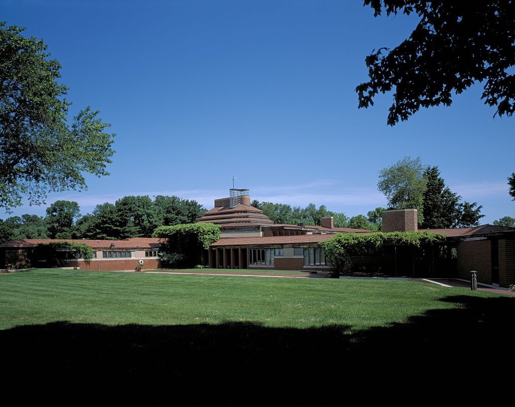Wingspread Is The Residence Frank Lloyd Wright Designed And Built
