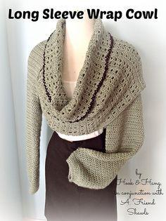 Ravelry: Long Sleeve Wrap Cowl pattern by Melissa R. M. Frank