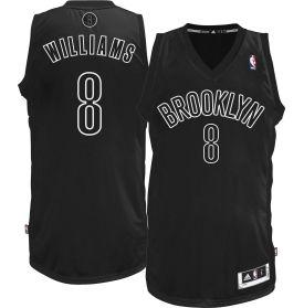 adidas Adult Brooklyn Nets Deron Williams #8 Black Big Color Collection Basketball  Jersey - Dick\u0027s