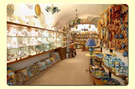 Ceramica Il Ninfeo Amalfi, Amalfi Coast, Italy. How to reach our ceramics shop in Amalfi