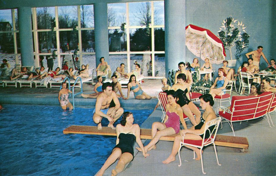 Concord Hotel Indoor Pool Kiamesha Lake Ny Places