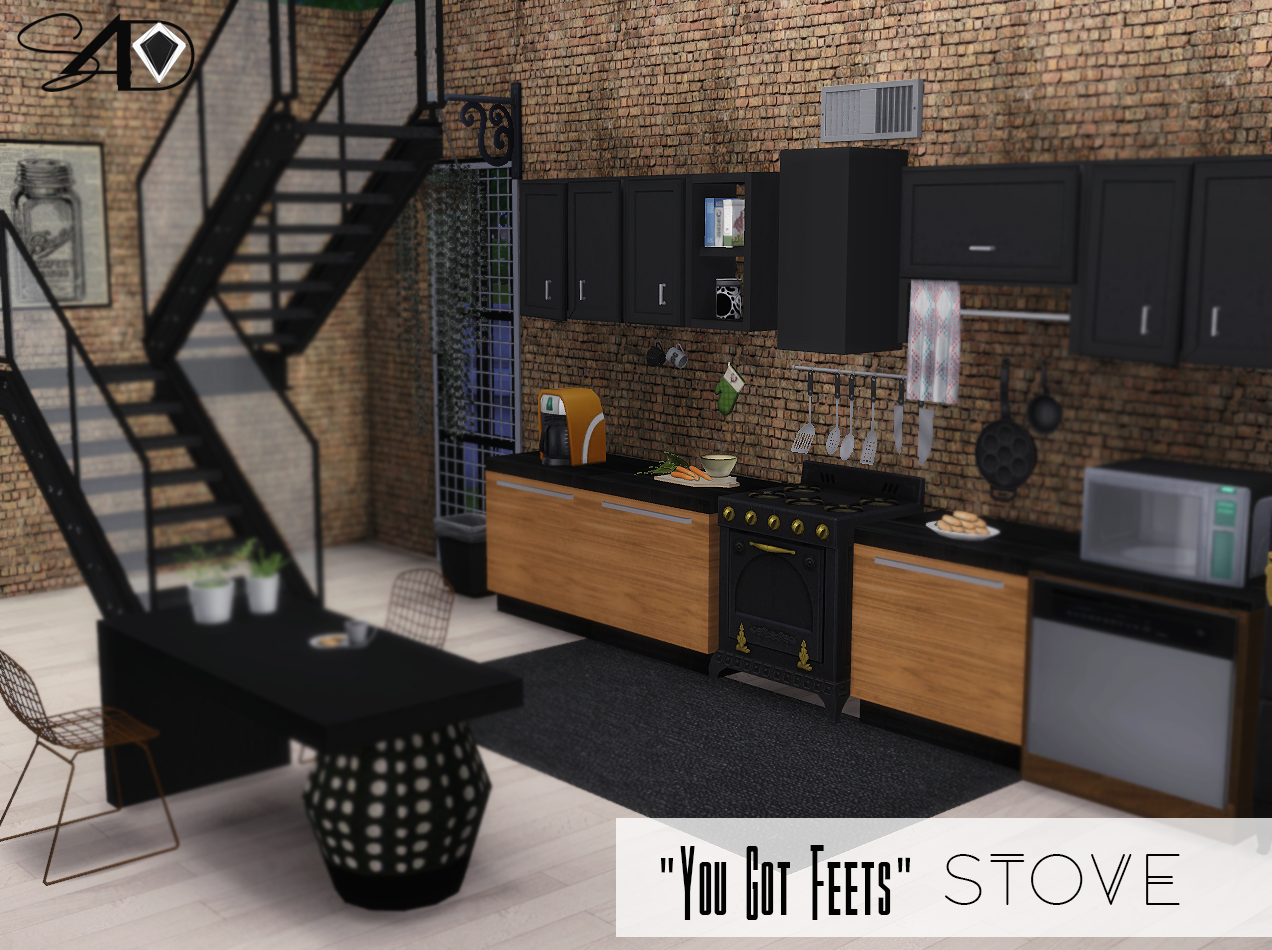 Sims 4 Küchenzeile 2t4 You Got Feets Stove Sims 4 Designs Sims 4 Sims