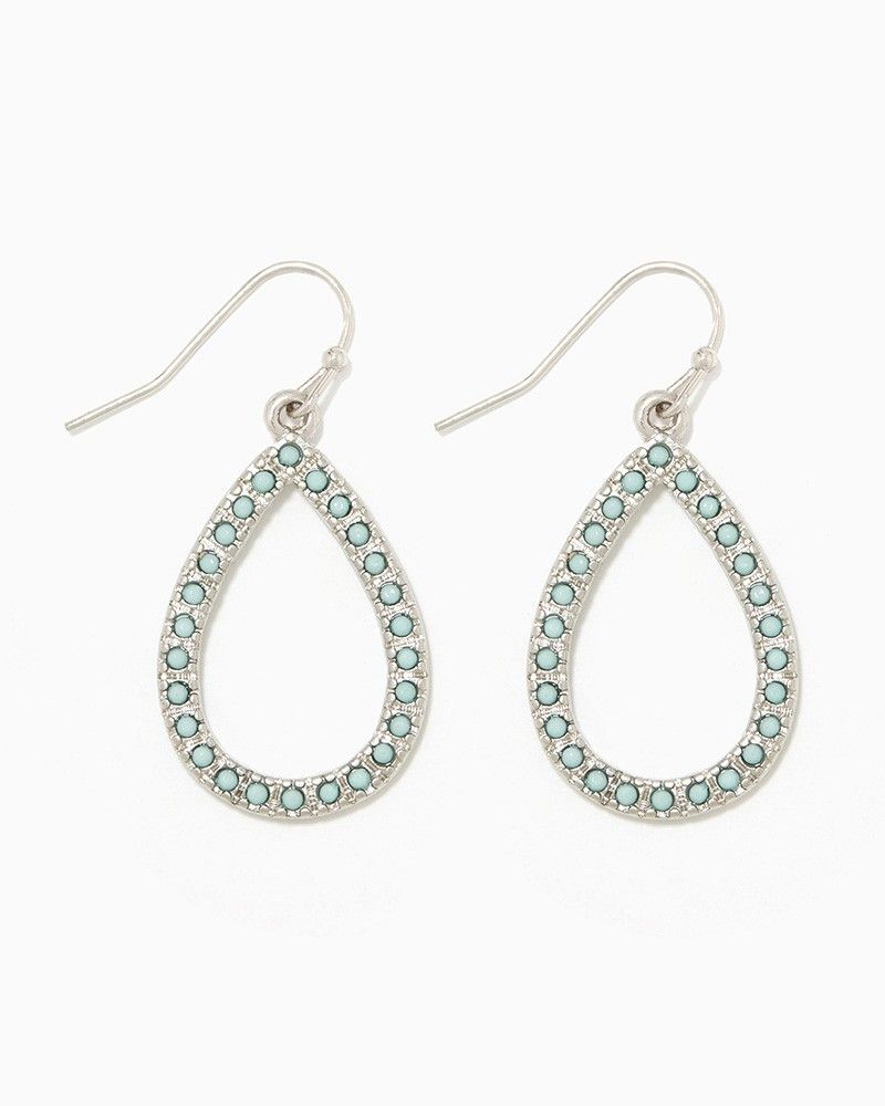 Beaded Open Drop Earrings Fashion Jewelry charming charlie My