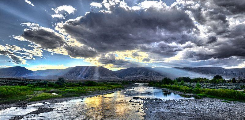 Clark Wyoming Clark Forks River