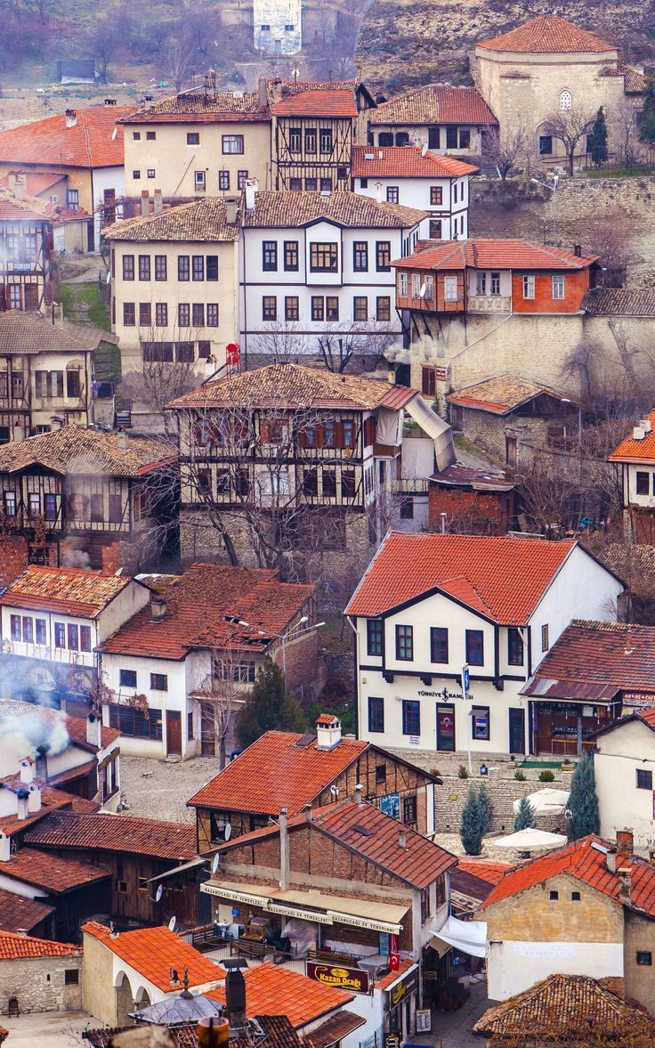City of Safranbolu is One of the Wonders of Turkey in the UNESCO World Heritage List