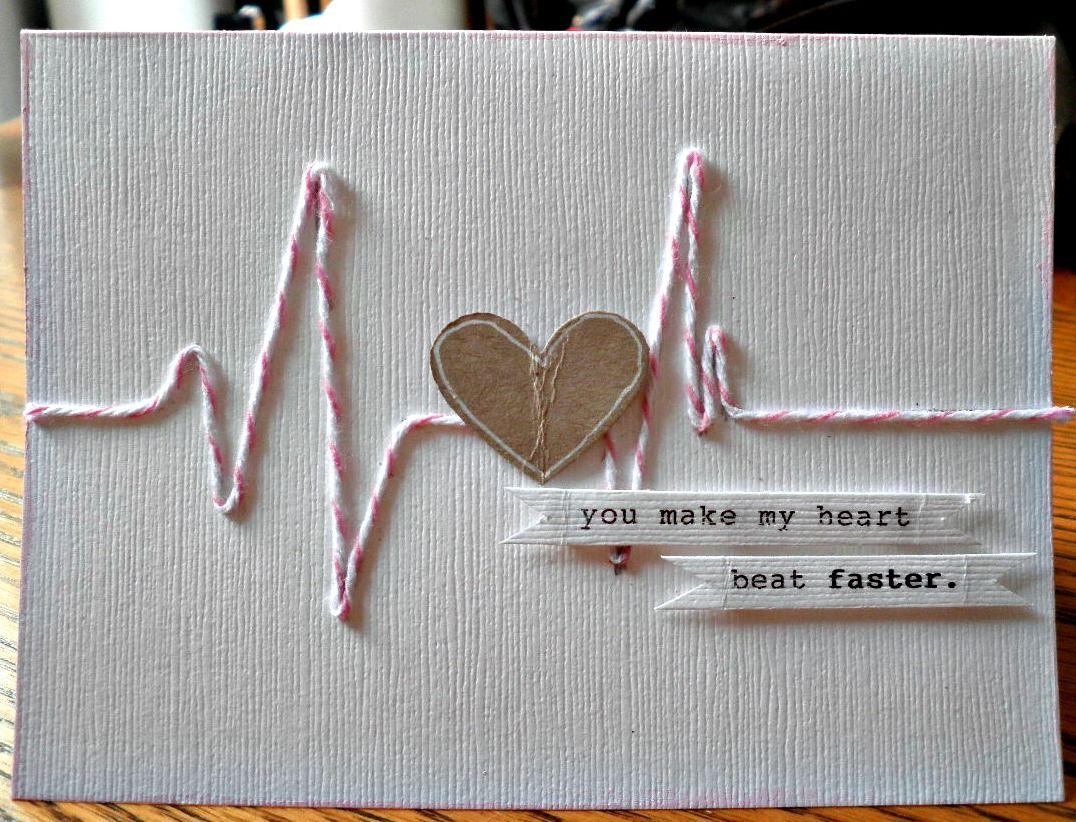 Любовная открытка своими руками для парня