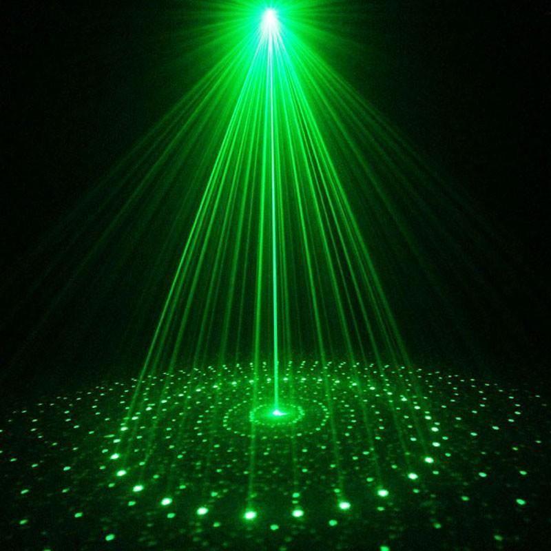 Suny Remote Green 20 Patterns Blue Light Outdoor Laser Light Projector Waterproof Garden Party Landscape Decorative Lights Show