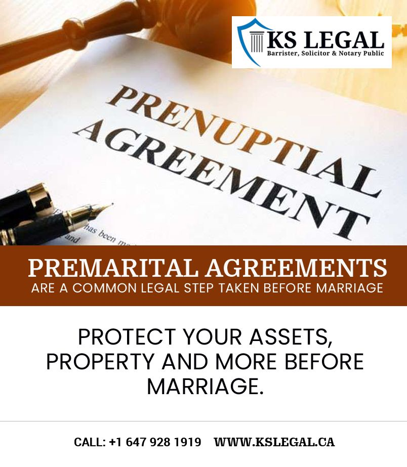 Prenuptial Agreements Are A Comman Legal Step Which Taken Before