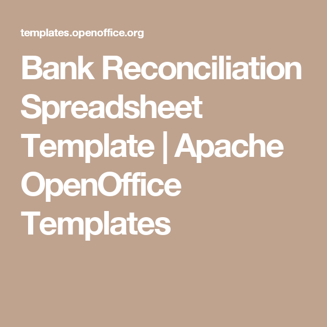 Bank Reconciliation Spreadsheet Template Apache Openoffice Templates Resume Template Free Openoffice Templates Spreadsheet Template